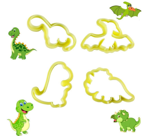 Kit Cutter Dinosaur 4pcs
