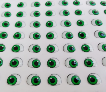 Eyes 3D Stickers - Ojos, Olhos Resinados  MD410M