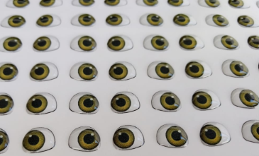 Eyes 3D Stickers - Ojos, Olhos Resinados - MD410P