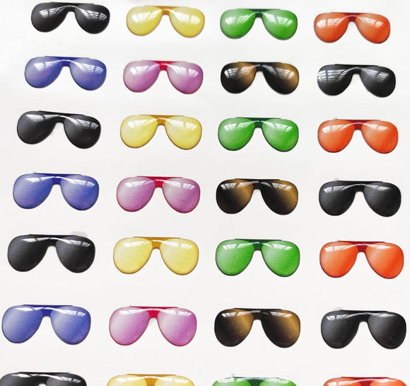 Sunglasses 3D Stickers - Aviator 524