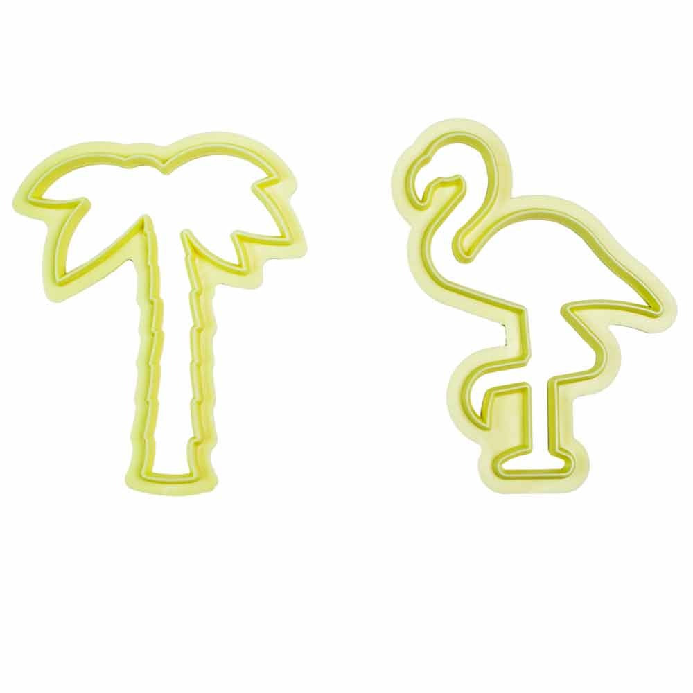 Kit Cutter Tropical 2pcs