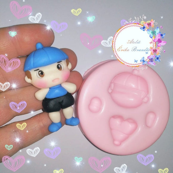 Silicone Mold Mini Boy