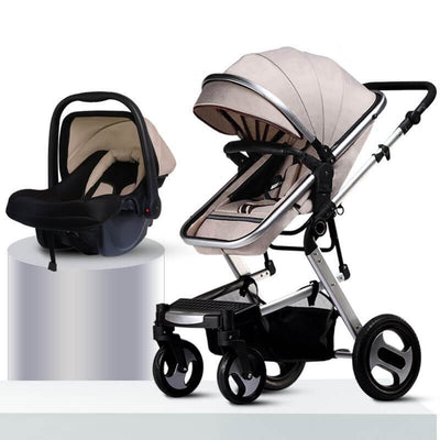 pushchairs--khaki