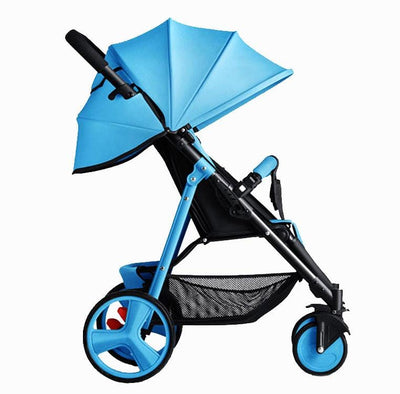 Compact Stroller-blue