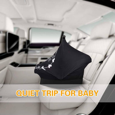 Cute Car Seat Cover Multi-use Breastfeeding Nursing Cover