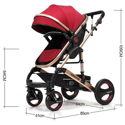 Baby Bassinet Stroller Convertible Stroller For Infant