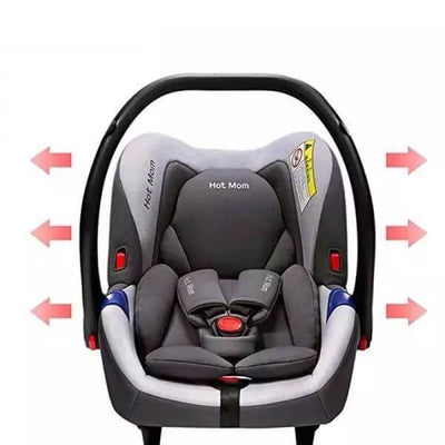 Hot Mom 3 In 1 Stroller Car Seat Combo Baby Travel Systems