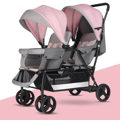 Itemsbaby Double Jogging Stroller