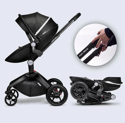 Luxury Hot Mom Stroller Bassinet Strollers for Newborns and Toddler