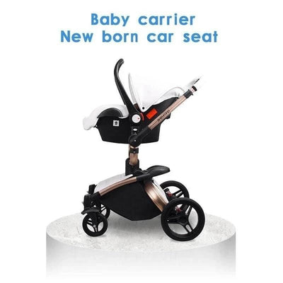 White Baby Stroller car seat without the base