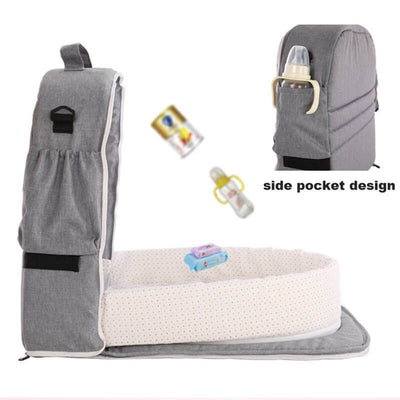 Portable Baby Bassinet Beside Co Sleeper in Bed Bassinet for Newborn