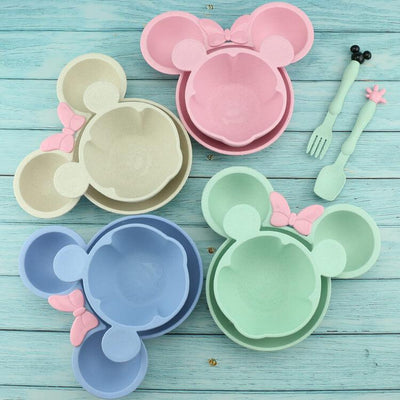 Baby Bowls and Spoons Baby Feeding Plates