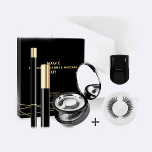 Magnetic Eyelash & Eyeliner + Extras (3 Pair Set)