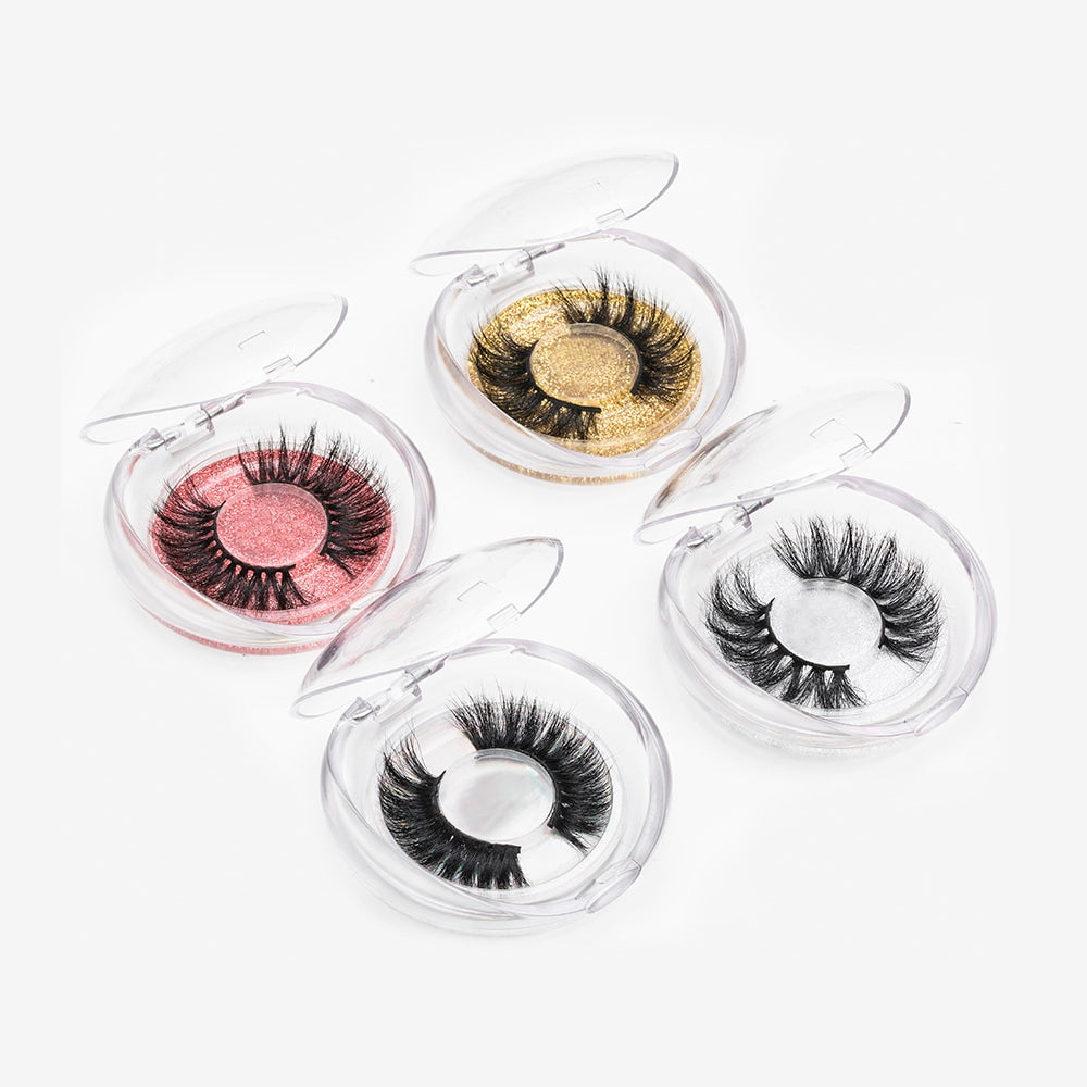 BeautyQween / 1 Pair Real Mink Eyelashes (8 styles)