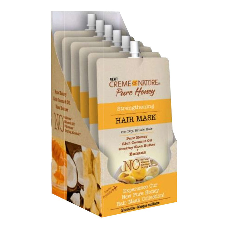 CREME OF NATURE Pure Honey Hair Mask Pouch (3.4oz)