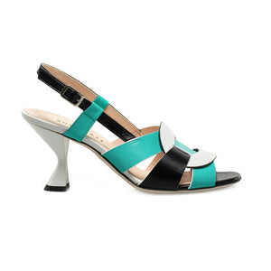 MAGGIE - Turquoise sandal