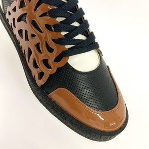 BAROQUE - Sneakers cuoio
