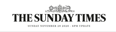 In the Press: The Sunday Times Christmas Gift Guide 2020