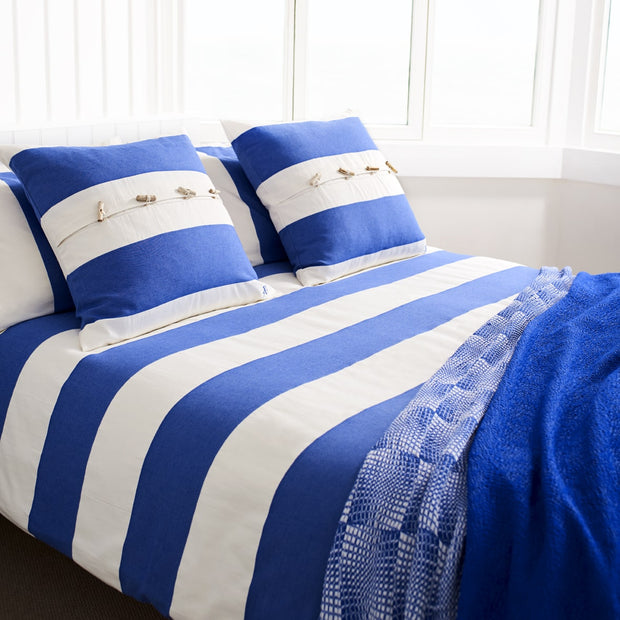Just Stripes Oxford Pillowcase / Cushion