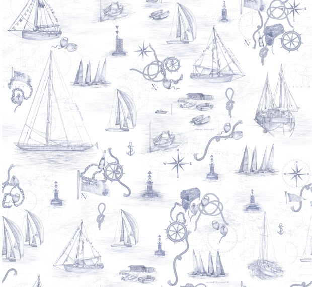 Cowes Mural Fabric