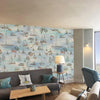 Cowes Mural Watercolour Wallpaper