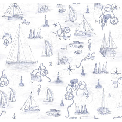 Cowes Mural Original Wallpaper