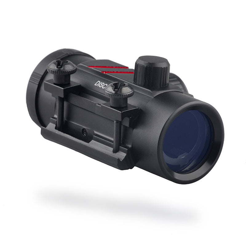 Discovery Optics Red Dot Scope, Sight, 1x32 20mm Pica-Tinny Mount.