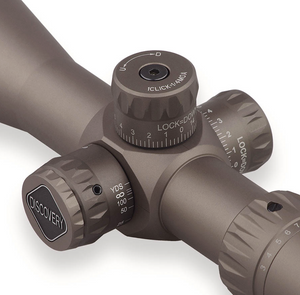 Discovery Optics VT-Z 3-12X40 FFP Compact Scope, Big Side Wheel.