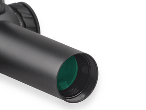 Discovery Optics HD 1-4X24 IR Rifle Scope illuminated Red Dot Reticule.