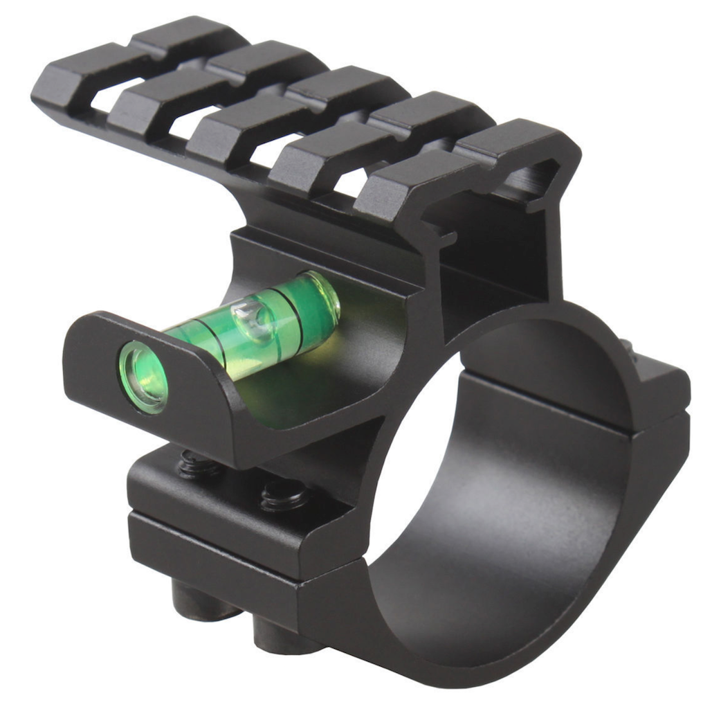 "30mm Diameter Mount with 25.4mm 1"" Adapter for 30mm Sight Rails"