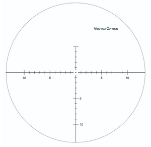 Vector Optics Minotaur 10-50x60 GenII MFL Riflescope Illuminated Red Dot Ret.
