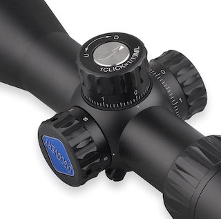 Discovery Optics VT-3 4-16X44 SF Compact Rifle Scope with Big Side Wheel.