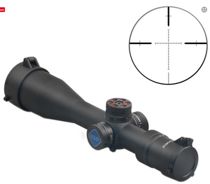 Discovery Optics VT-3 4-16X44 FFP Compact Scope with Big Side Wheel.