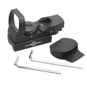 Vector Optics Imp 1x23x34 Red Dot Sight 11mm Airgun Dovetail Fitting for Pistols or Rifles.