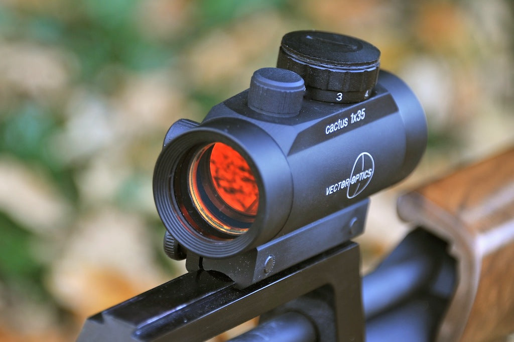 Vector Optics Cactus Red Dot Scope for Air Rifles & Pistols, CO2 etc. for 11mm sight Rails.