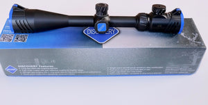 Discovery Optics 6-24X44 VT-2 Rifle Scope Double Mil-Dot illuminated Reticule.