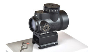 Red Dot Sight, Optronics for Pistols & Rifles, Night Vision Compatible.