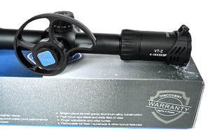 Discovery Optics VT-Z 4-16X50 FFP Rifle Scope, with Big Side Wheel.