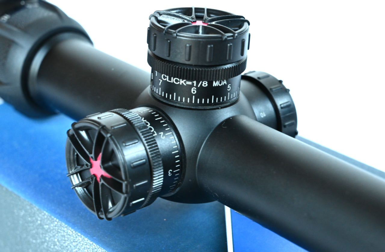 Discovery Optics Hi 8-32X50 SFIR HK SFP Rifle Scope Mil-dot Ret. Bubble Level.