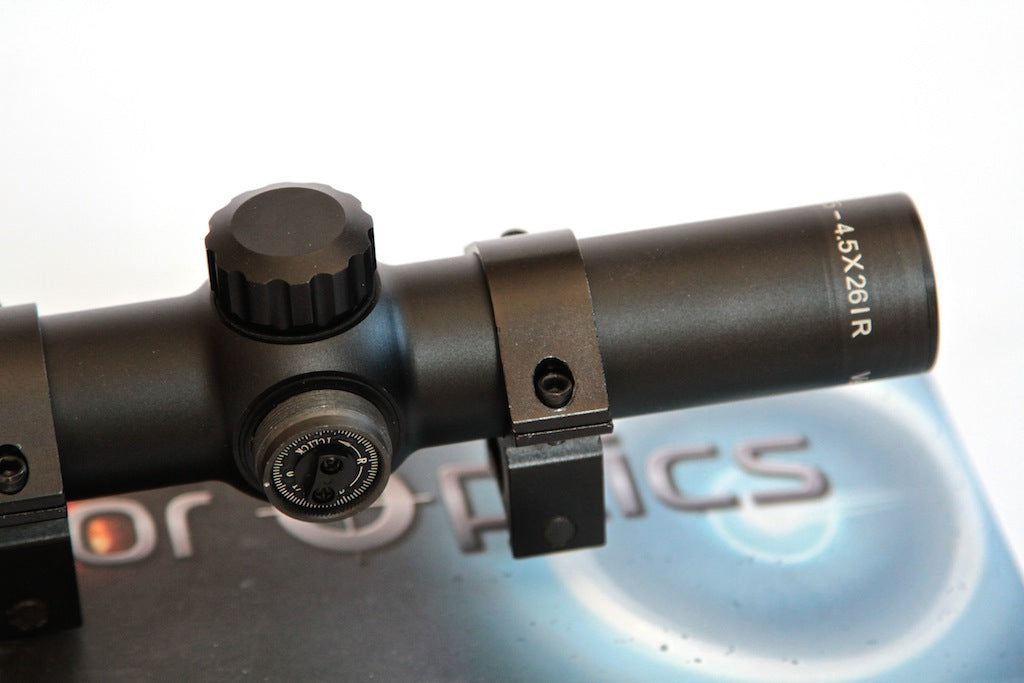 Vector Optics Swift 1.25-4.5x26IR Red Dot Reticule Swift Hunting Riflescope