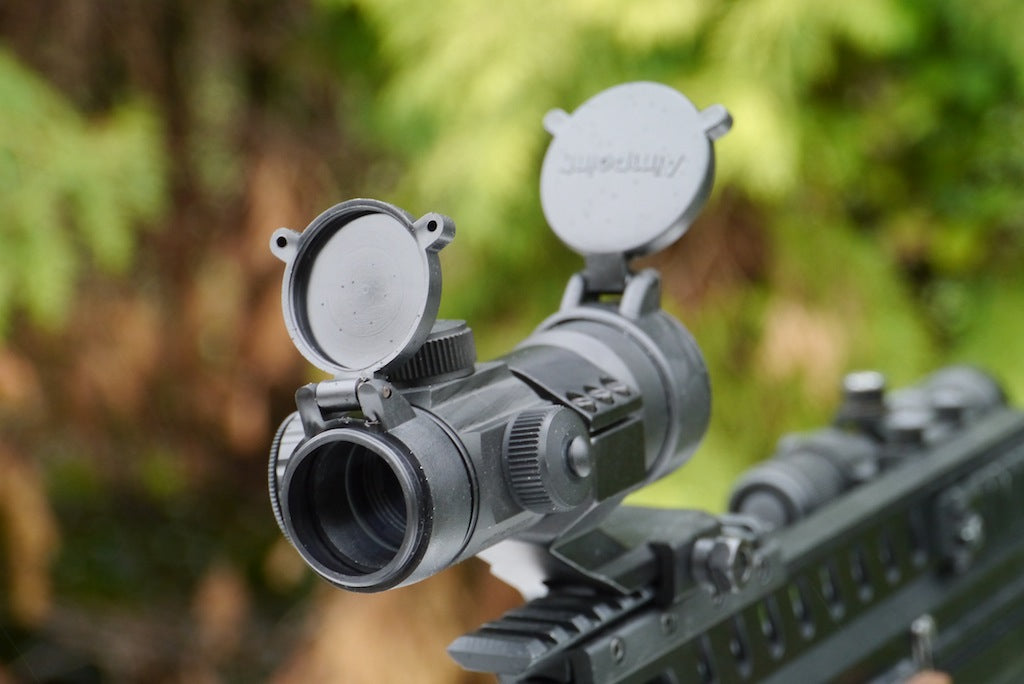 Aimpoint 1x30mm Red Green Blue & Dot scope.