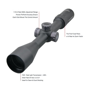 Vector Optics Marksman 6-24x50 FFP Riflescope