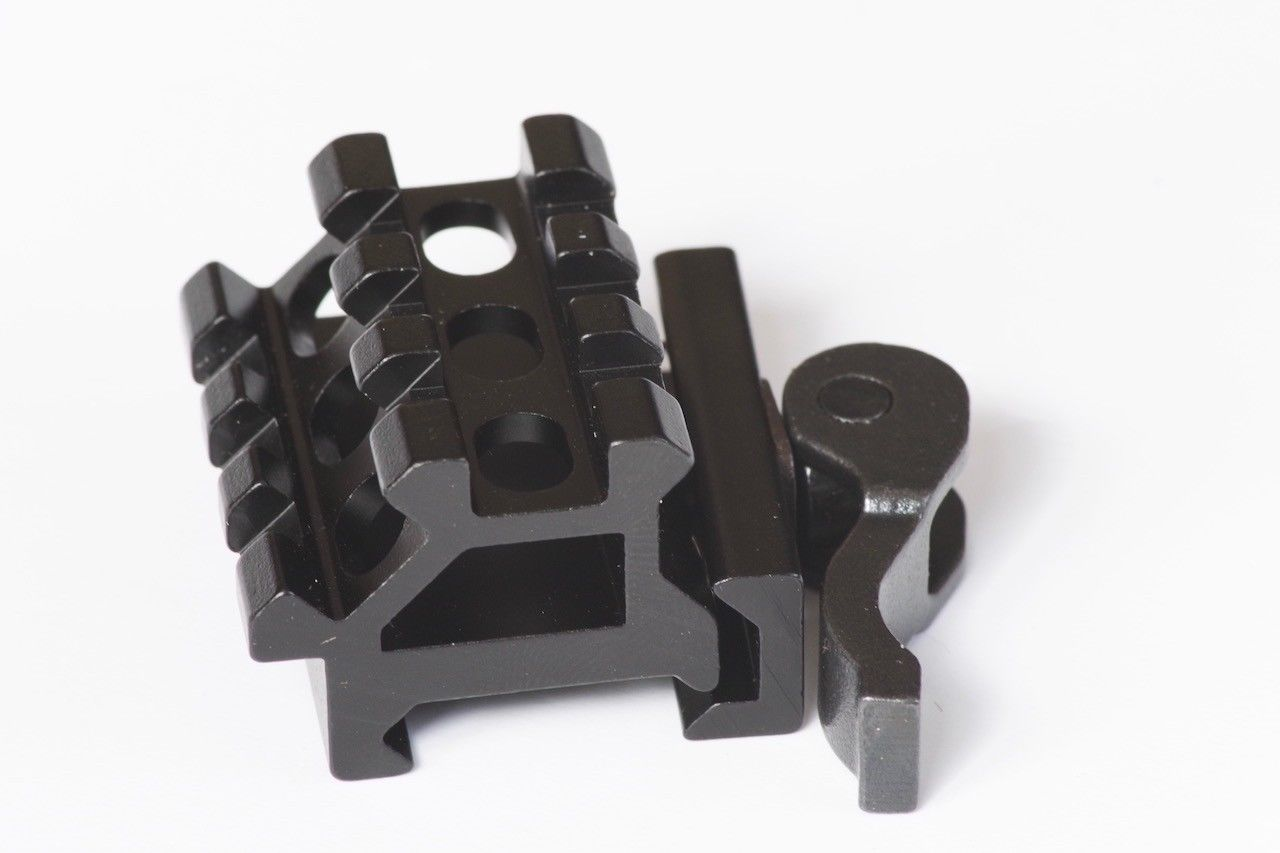 20mm to 20mm QD Scope Riser Mount for Weaver & Pica-tinny Rails