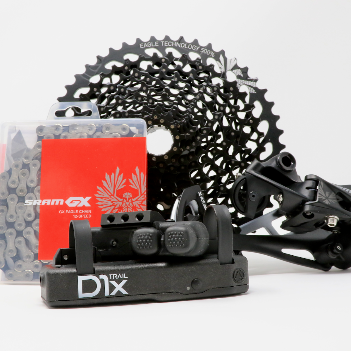 D1x Trail + SRAM Eagle kit