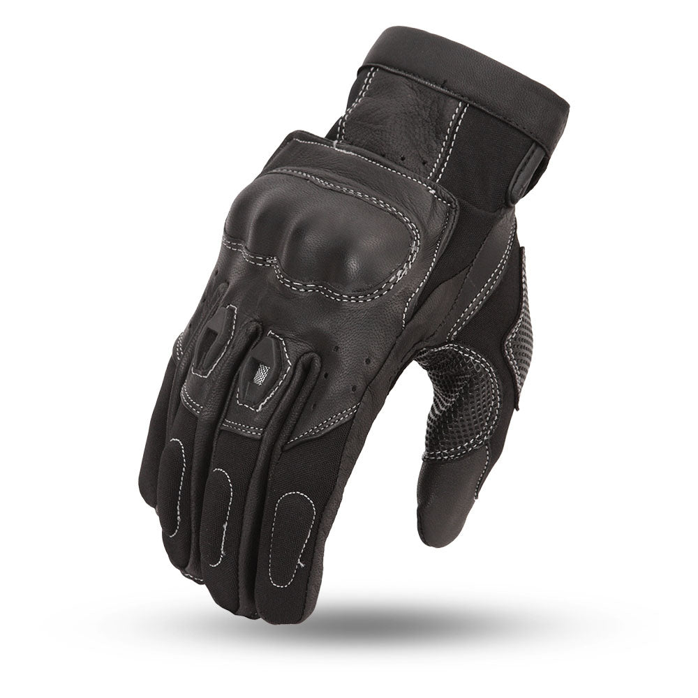 First Mfg Men's Textie & Leather Gloves FR104GL