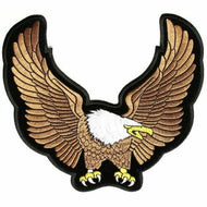 Medium Brown Eagle Patch
