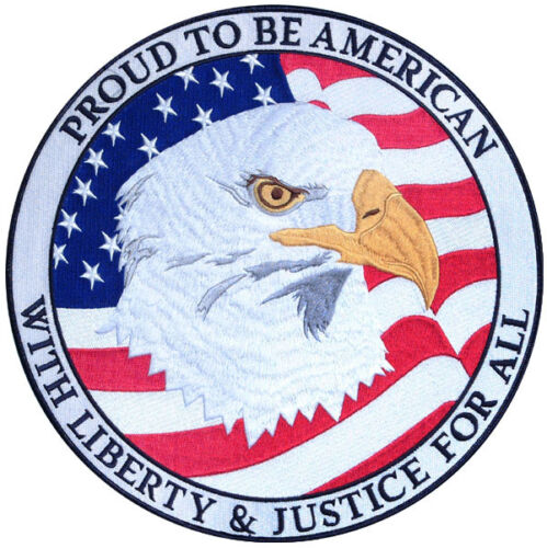 Proud to be American Large Patch