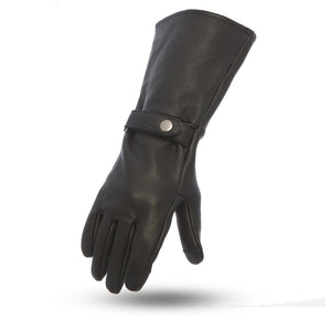First MFG Men's Leather Gauntlet Gloves ( FI216 ) Multi Colors