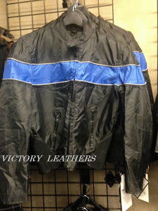 Men's Light Weight Motorcycle Jacket  ( Multi Colors )