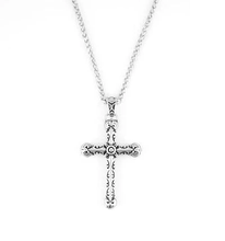 Load image into Gallery viewer, Stainless Steel Tribal Cross